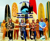 Men with Surfer Girls